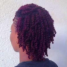 Christian from Barbados // 4C Natural Hair Style Icon | Black Girl with Long Hair