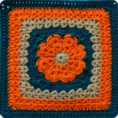 "Free Pattern: More V's Please | 12"" Crochet Square"