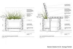 Diseño de espacios públicos corte