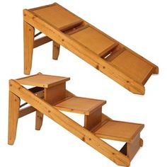 Merveilleux This Is A Folding Ramp For Pets That Dislike Using Stairs. I Thought  Someone Should