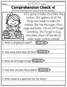 Worksheets Short Story With Comprehension Questions Grade 3 reading comprehension checks short stories and questions to for december no prep