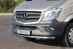 Front City Nudge Bar - Stainless Steel dia Polished finish Net weight: Pt No: 818540 Mercedes Benz Sprinter, Commercial Vehicle, Vans, Stainless Steel, City, Vehicles, Cars, Scale Model, Van
