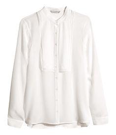 H&M Silk Blouse $25