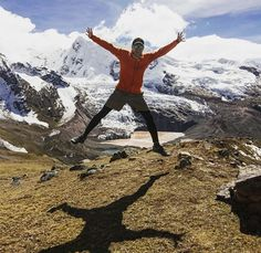 Lukas is jumping with excitement ;-) This Sunday he is running his first Ultra Marathon in Huaraz and we are both super curious how it will go. We hope you'll all send some support to Peru on Sunday! Picture is from Ausangate of course. What a day and what a jump ;-) . . . . . #earthporn #beautifuldestination #nakedplanet #photographylover #landscapelover #exploretheglobe #awesome_earthpix #adventurevisuals #ourplanetdaily #beautifuldestinations #twosundowners #adventureculture #getlost…
