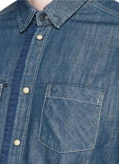 SCOTCH & SODA 'Mr. Blue' denim shirt