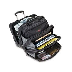 Wenger Patriot Rolling Case Blk Up To Laptop with notebook Case Computer Bags, Laptop Computers, Laptop Cases, Used Laptops, Notebook Case, Gear S, Victorinox Swiss Army, Desktop Accessories, Luggage Sets