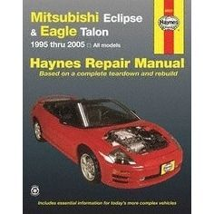 Haynes Repair Manuals Mitsubishi Eclipse & Eagle Talon, 95-0, Clear