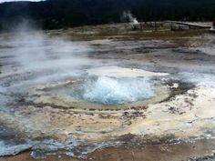 Geyser again! Yellowstone park.2014