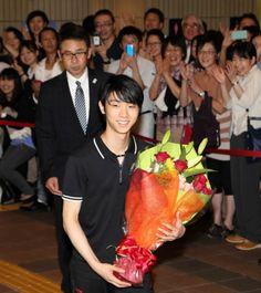 羽生さん「演技を楽しんで」 フィギュア公演PR - 大分合同新聞プレミアムオンライン Gate