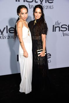 Pin for Later: Les Célébrités Ont Mis le Feu au Tapis Rouge Lors des InStyle Awards Zoe Kravitz et Lisa Bonet