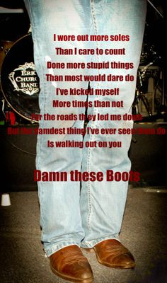 Damn These Boots! Eric Church Beyond Photography, By, Heather B