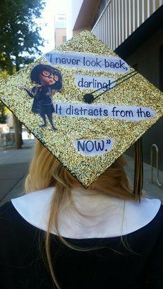 My grad cap Disney inspired