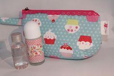 """Kosmetiktasche """"Cupcake Love"""" von DIY Eule auf DaWanda.com"""