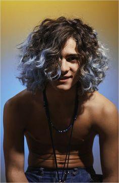 Long Curly Hair Men, Black Curly Hair, Curly Hair Cuts, Long Hair Cuts, Curly Hair Styles, Mens Hairstyles Long Curly, Funky Hairstyles, Men's Hairstyles, Formal Hairstyles