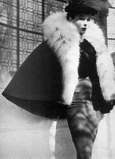 Cristóbal Balenciaga 1959    Photographed by Henry Clarke.