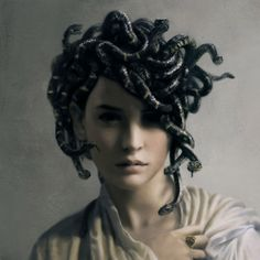 Young Medusa by Jsimeth