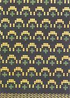 143.jpg (23811 bytes) Latvian mittens pattern
