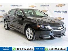 2015 Chevrolet Chevy Impala LT Black $22,900 20528 miles 408-412-3262 Transmission: Automatic  #Chevrolet #Impala #used #cars #MomentumChevrolet #SanJose #CA #tapcars
