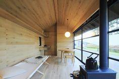 Muji Hut in wood - design Naoto Fukasawa
