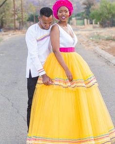 Sepedi Traditional Dresses, African Traditional Wedding, African Fashion Dresses, African Dress, Crystal Wedding Dresses, African Beauty, Designer Dresses, Black Weddings, Dress Up