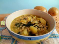 Zuppa di orzo e spinaci: una ricetta deliziosa per un comfort food sano e gustoso con orzo, patate, spinaci e poco altro