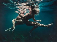 Underwater Love III by Martine Emdur at the Olsen Gallery