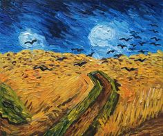 Vincent Van Gogh, Wheat Field With Crows - Canvas Art & Reproduction Oil Paintings. overstockArt.com