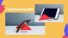 Knutseltips voor vaderdag - Onder, midden en bovenbouw - MeesterSander.nl Origami, Phone, Telephone, Origami Paper, Mobile Phones, Origami Art
