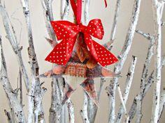 #decouage #christmas ozdoby świateczne hand made decouapage piernikowe ozdoby