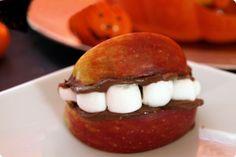 Dentaduras postizas de manzana