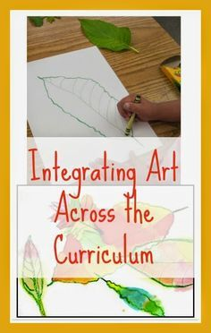 integrating art into your curriculum. is…