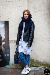 Paris Fashion Week FW 2014 Street Style: Before Isabel Marant