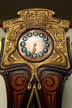 Art Nouveau Clock, Museum of Applied Art, Budapest