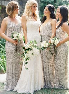 Aliexpress.com : Buy Bling Bling Sequins Bridesmaid Dresses 2015 Summer Style Sleeveless Backless Aline Bridesmaid Dresses Sparking Khaki/Purple from Reliable Bridesmaid Dresses suppliers on Life&Peace Dress Store | Alibaba Group