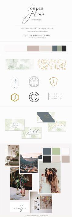 Joelle Julian Brand Board Concept by Harper Maven Design