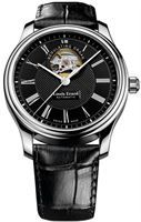 Show details for Louis Erard Heritage Collection  Black Dial