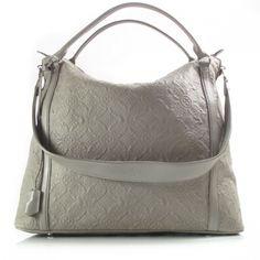56222b619a18 LOUIS VUITTON Monogram Antheia IXIA GM Grey. Grey Bags, Everyday Bag,  Authentic Louis