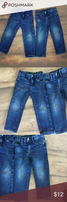Gap Kids 1969 Jeans 2 pairs Lot Size 3 Gap Kids 1969 Jeans Lot 2 pairs Size 3. Both are slim fit. Boy or girl. Non smoking home. GAP Bottoms Jeans