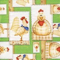 0061 V Servilleta decorada infantil
