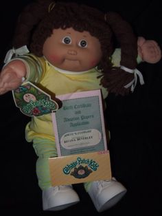 1985 - Cabbage Patch Doll
