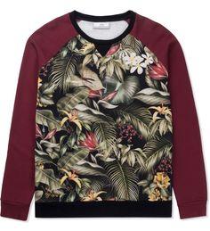 Multicolor Print AMI Tropical Logo Sweater