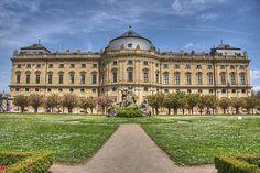 Source: Residenz, Würzburg.