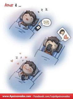Quem não gosta de acordar com mensagem apaixoanda, né?