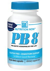Pb 8 Acidophilus by Nutrition Now - Buy Pb 8 Acidophilus 120 Capsules at the Vitamin Shoppe  #vitaminshoppecontest