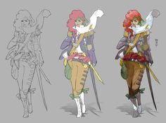 2D character by Boell Oyino