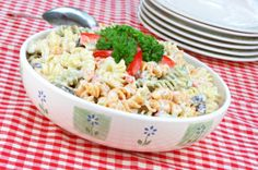 Nutrisystem provides a delicious and healthy Pasta Salad recipe perfect for those who crave carbs while on a diet.