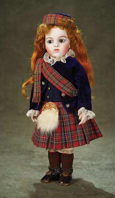 Bru Jne in Scottish tartan