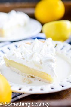 Lemon Meringue Pie http://www.somethingswanky.com/lemon-marshmallow-meringue-pie/?utm_campaign=coschedule&utm_source=pinterest&utm_medium=Something%20Swanky&utm_content=Lemon%20%7BMarshmallow%7D%20Meringue%20Pie
