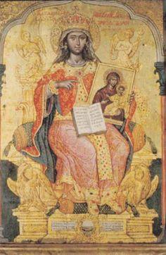 .:. Τζάνες Εμμανουήλ – Emmanuel Tzanes [Ρέθυμνο, 1610 - Βενετία, 28 Μαρτίου 1690] Η Αγία Θεοδώρα