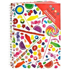Our A5 Notebook Candy Spill looks so cute with one of the Candy Pens as a gift!